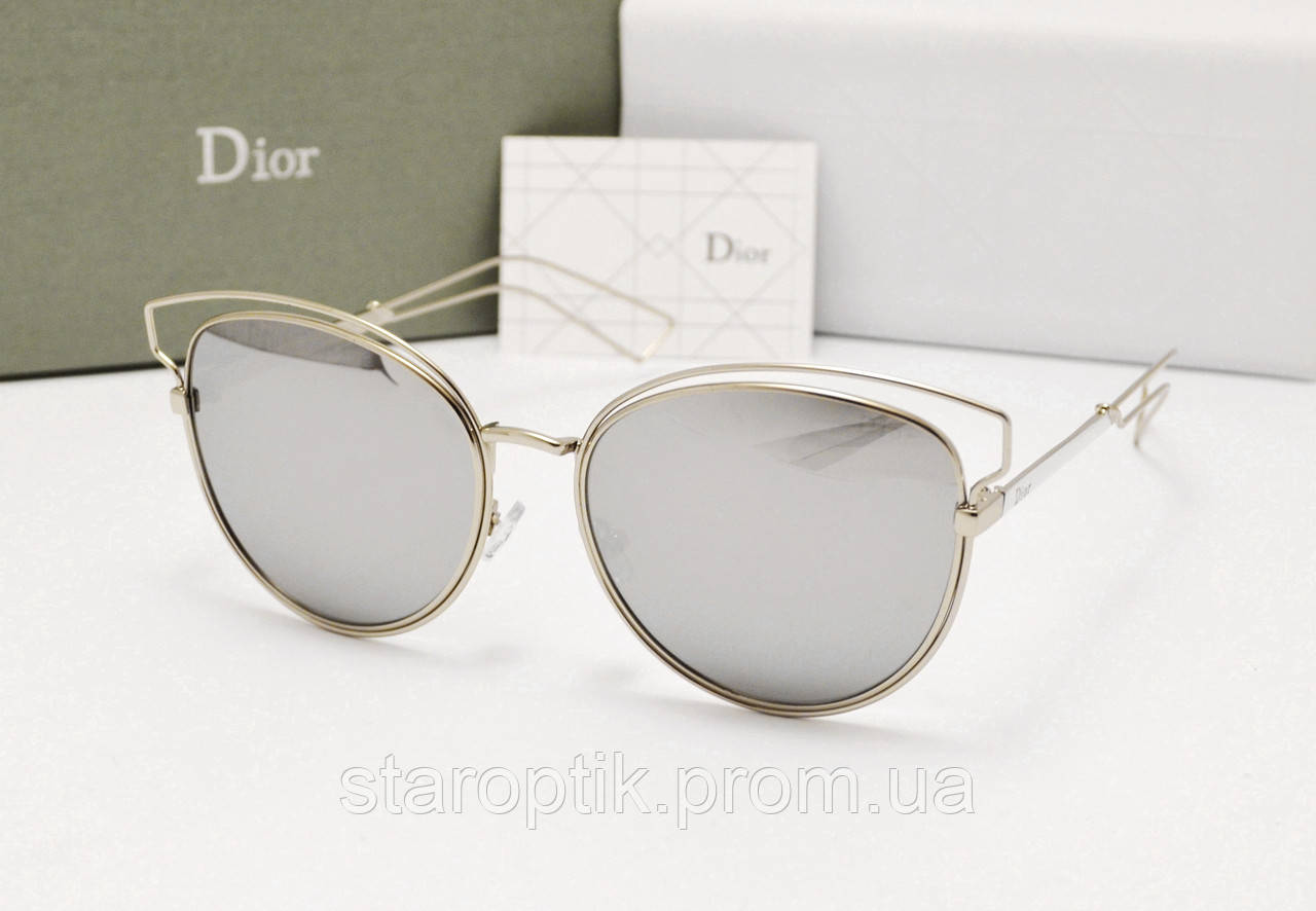c115f0f00ea9 Женские солнцезащитные очки Dior Sideral 2 зеркальная линза - Star Optik в  Одессе