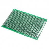PCB 5х7 см двухсторонняя печатная плата