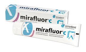 Зубна паста з аміно-фторидом Mirafluor C Miradent (100мл)