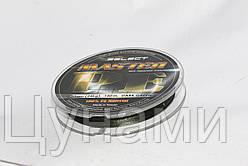 Шнур Select Master 100m 0.08mm темная