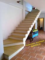 Изготовление бетонных лестниц в коттеджах, домах, квартирах