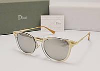 Женские солнцезащитные очки Dior 0198s зеркальная линза, фото 1