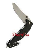 Нож складной  (стропорез)MIL-TEC Car Knife With Clip Black