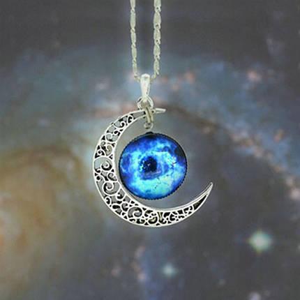 Цепочка с кулоном Galaxis Blau, фото 2