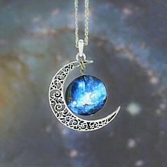 Ланцюжок з кулоном Galaxis Blau Comb