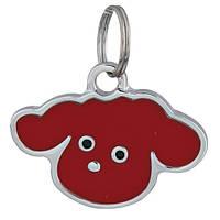 Адресный медальон на ошейник для собаки