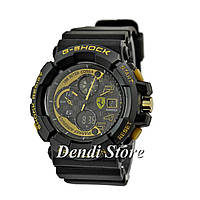 Часы Casio G-Shock Inter Corsa Ferrari Black-Gold