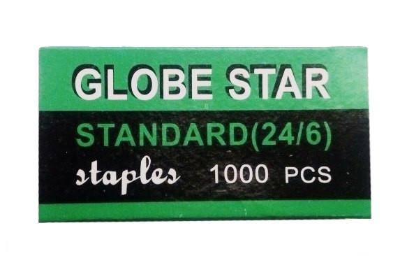 """Скоба 24/6, """"Globe star"""""""