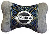 Автомобильная подушка подголовник с логотипом, фото 2