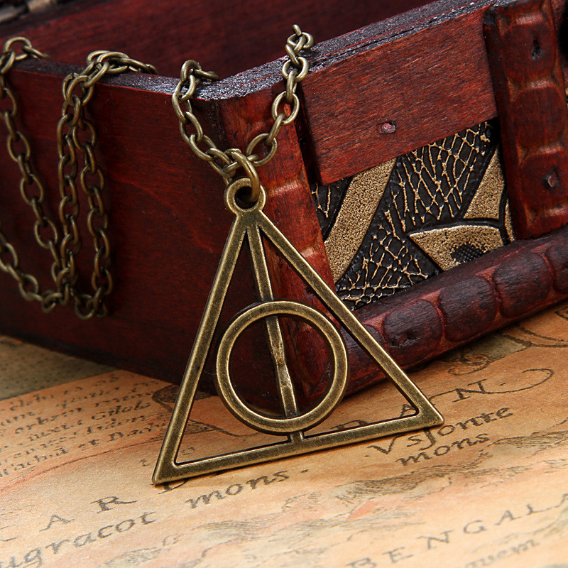 Ланцюжок з кулоном Deathly Hallows (бронза)