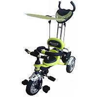 Детский трехколесный велосипед Mars Trike KR01 air салатовый