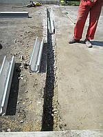 Устройство наружной системы водоотведения