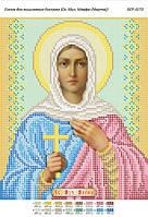 Схема для вышивания бисером - Св. Марфа(Марта)