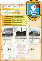 Чернобыль. Информация про энергоблоки. Стенд памяти аварии на ЧАЭС
