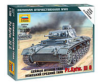 Сборная модель (1:100) Немецкий средний танк Pz.Kp.fw III G