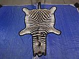 Настоящая шкура ковер из зебры Южная Африка, фото 5