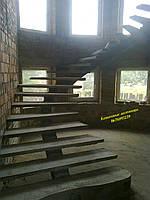 Лестницы и перила из бетона