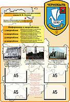Чернобыль. Энергоблоки. Стенд памяти аварии на ЧАЭС