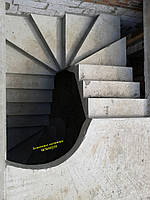 Монолитная, бетонная, железобетонная лестница