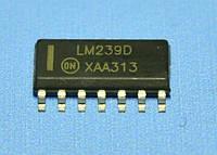 Микросхема LM239D  so14  ON