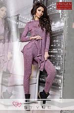 Трикотажный женский костюм для прогулок, фото 3