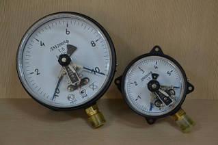 Манометры электроконтактные (сигнализирующие)