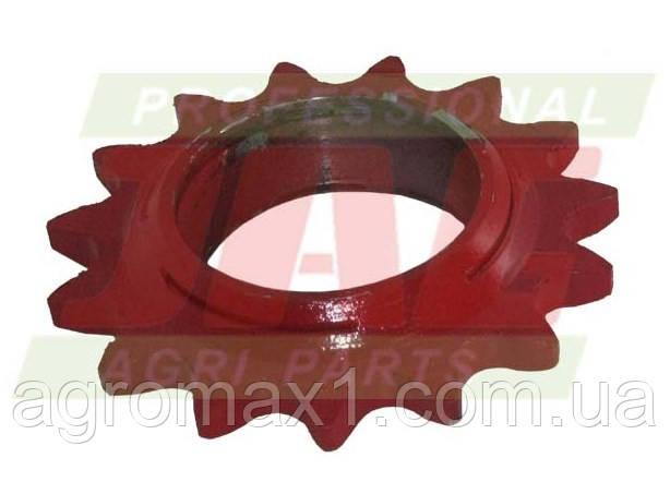 Натягивающее зубчатое колесо пресс-подборщика Welger, d52мм, z15 (15 зубьев)