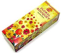 Floral Bouquet (Букет цветов)(Hem)(6/уп) шестигранник