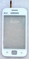 Оригинальный тачскрин / сенсор (сенсорное стекло) для Samsung Galaxy Ace Duos S6352 S6802 (белый, самоклейка)