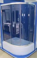 Душова кабіна SANTEH 1115 L G 115х85х195 ліва глибокий піддон