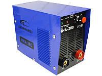 Инверторная сварка GERRARD MMA-200 HOME LINE 220В 20-200А электроды 1,6-4мм вес 6,5