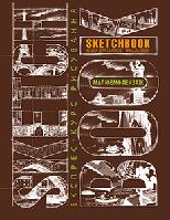 Sketchbook Скетчбук УКР Малюємо пейзаж [2] коричнева палітурка