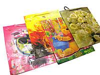Пакет подарочный пластик (39х32х9 см)(12 шт/уп)