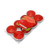 """Свечи """"Чайные"""" ароматизированые (набор 8 штук)(14,5х7х1 см)"""