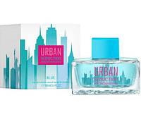 Женская туалетная вода Antonio Banderas Urban Seduction Blue for Women, 100 мл