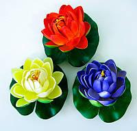 Цветок лотоса плавающий (9 см)