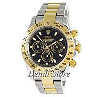 Часы Rolex Cosmograph Daytona AA+ Silver-Gold-Black-Gold-SM-1020-0251