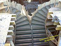 Лестницы монолитные из бетона