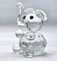 Слон хрустальный (6х4х4 см)