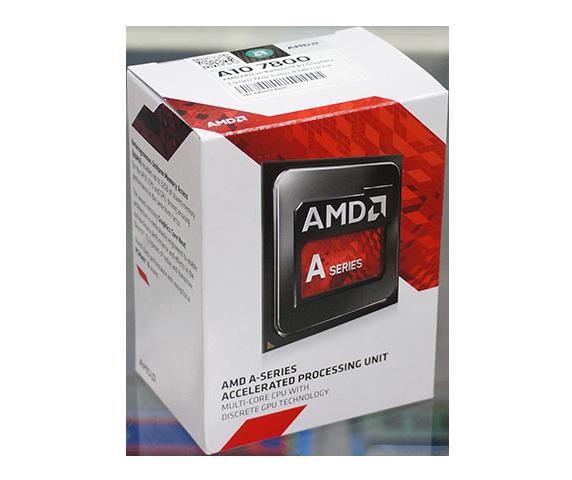 "Процессор AMD A10-7800 Kaveri 3.5GHz/4MB (AD7800YBJABOX) sFM2+ Tray  ""Over-Stock"" Б/У"