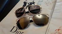 Очки Dior - новые авиаторы! Женские брендовые очки в наличии!, фото 1