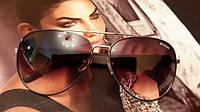 Очки женские брендовые солнцезащитные Bulgari Булгари