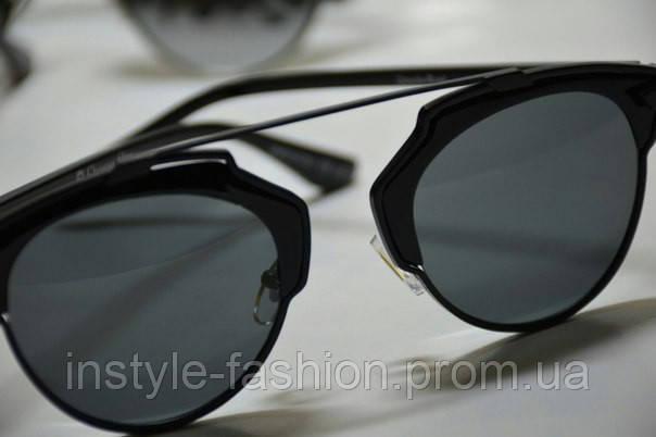Очки женские солнцезащитные копия Диор реплика