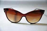 Солнцезащитные очки Dior в коричневой оправе женские