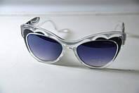 Очки женские брендовые солнцезащитные MiuMiu Миу Миу светлые, фото 1
