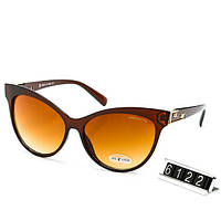 Очки женские брендовые солнцезащитные Louis Vuitton Луи Виттон в коричневой оправе, фото 1
