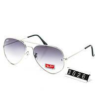 Очки Ray Ban капли светлые, очки со стеклом светлым, фото 1