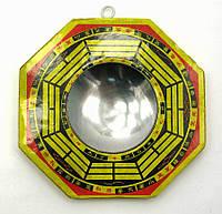 "Зеркало багуа (4"")(10,5х10,5 см)"