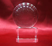 Шар хрустальный на подставке (4)(5х4х4 см)