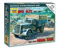 Сборная модель (1:100) Немецкий грузовик Опель Блиц